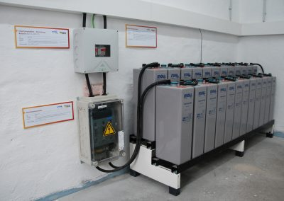 swiptec Batterieanlage des EDEV-Systems