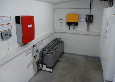 Technikraum der swiptec EDEV-Anlage